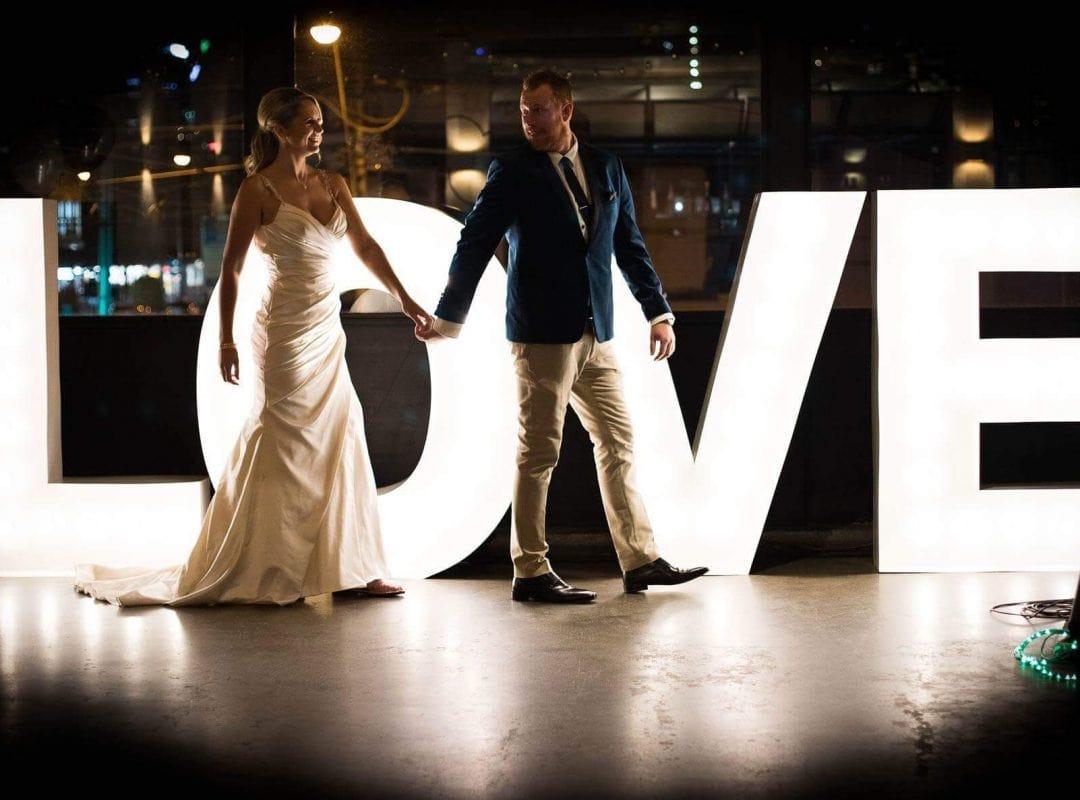 1.2 Metre 'LOVE' 3