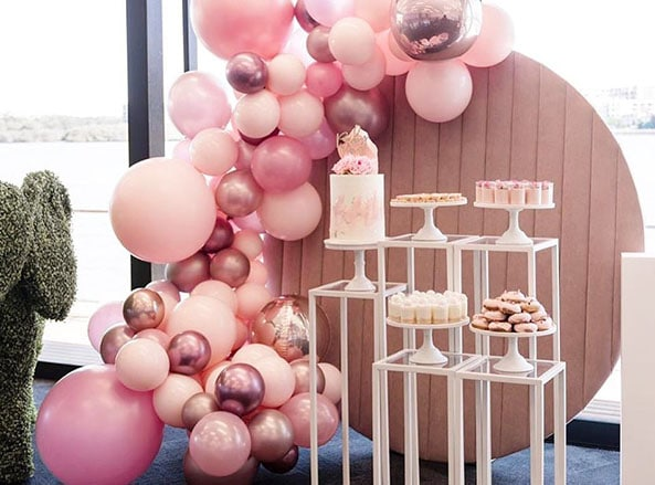 Pink Velvet Wall